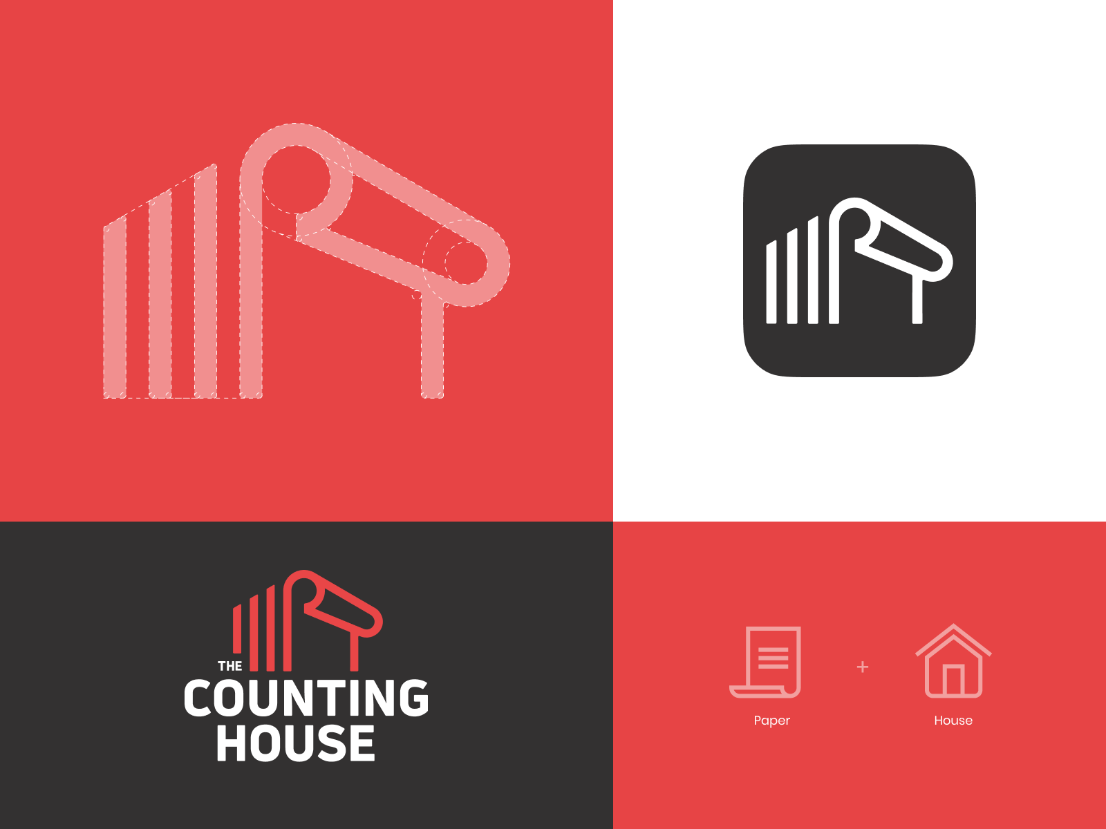 The counting house_logo_dribbble2